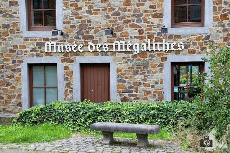 Megalithen Museum in Wéris in den Ardennen