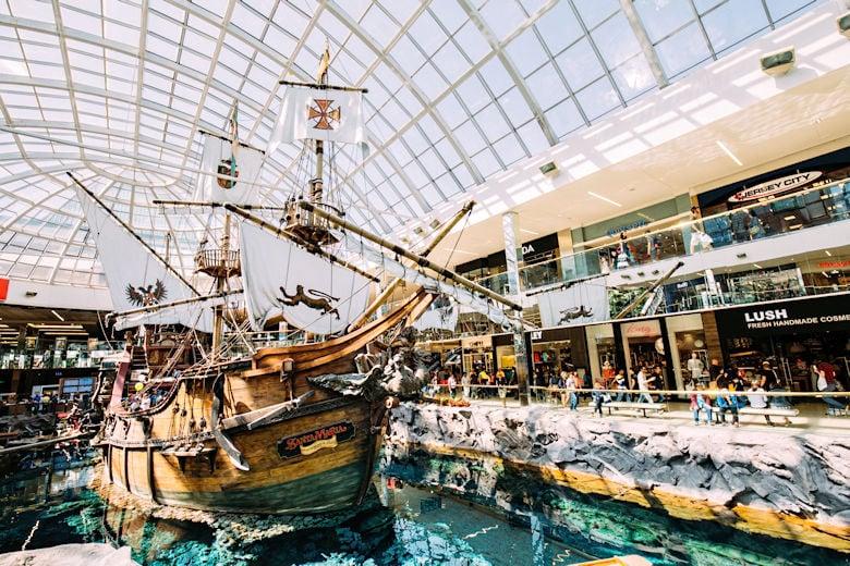 Sehenswürdigkeiten in Edmonton - West Edmonton Mall