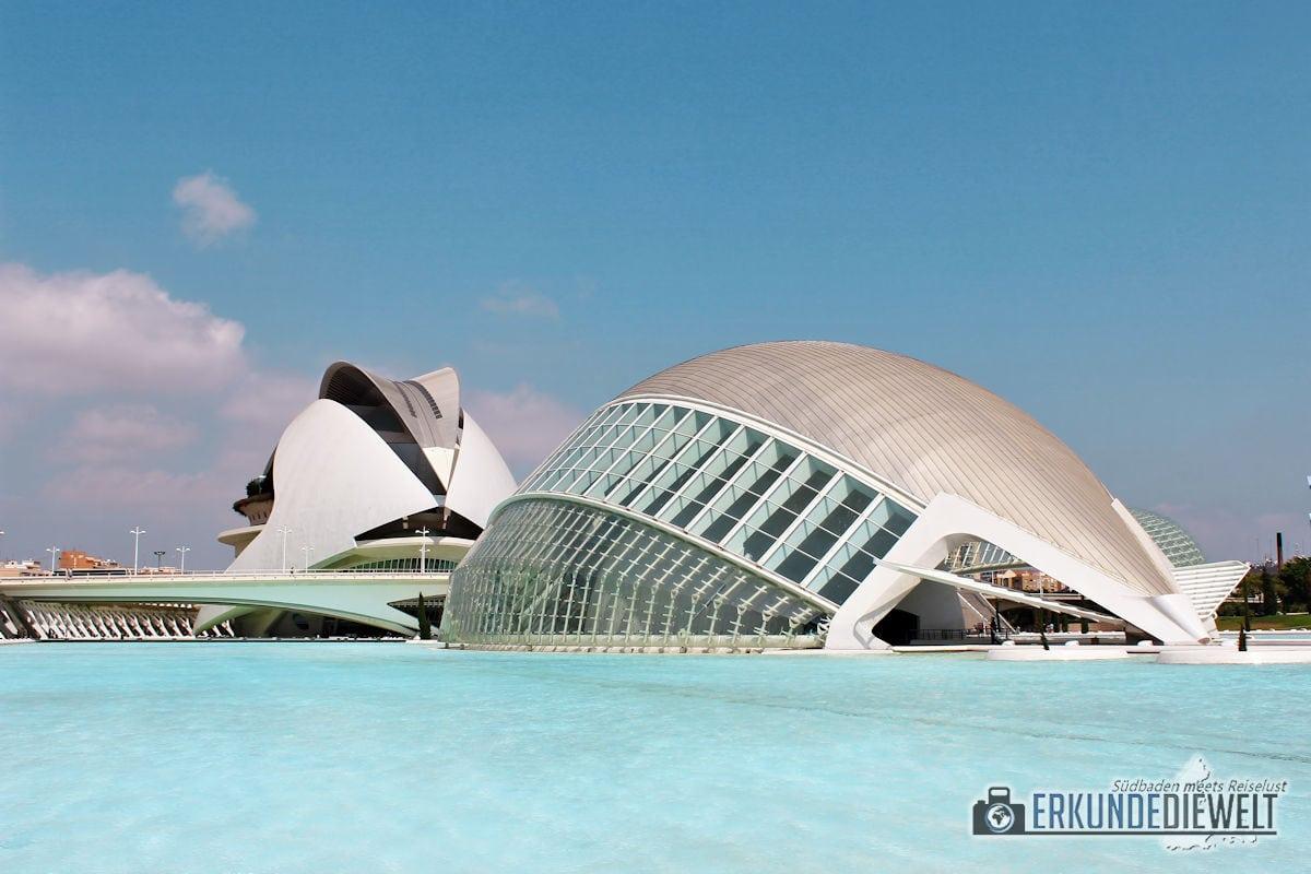 Mittelmeer Kreuzfahrt - Valencia Ciudad de las Artes y de las Ciencias