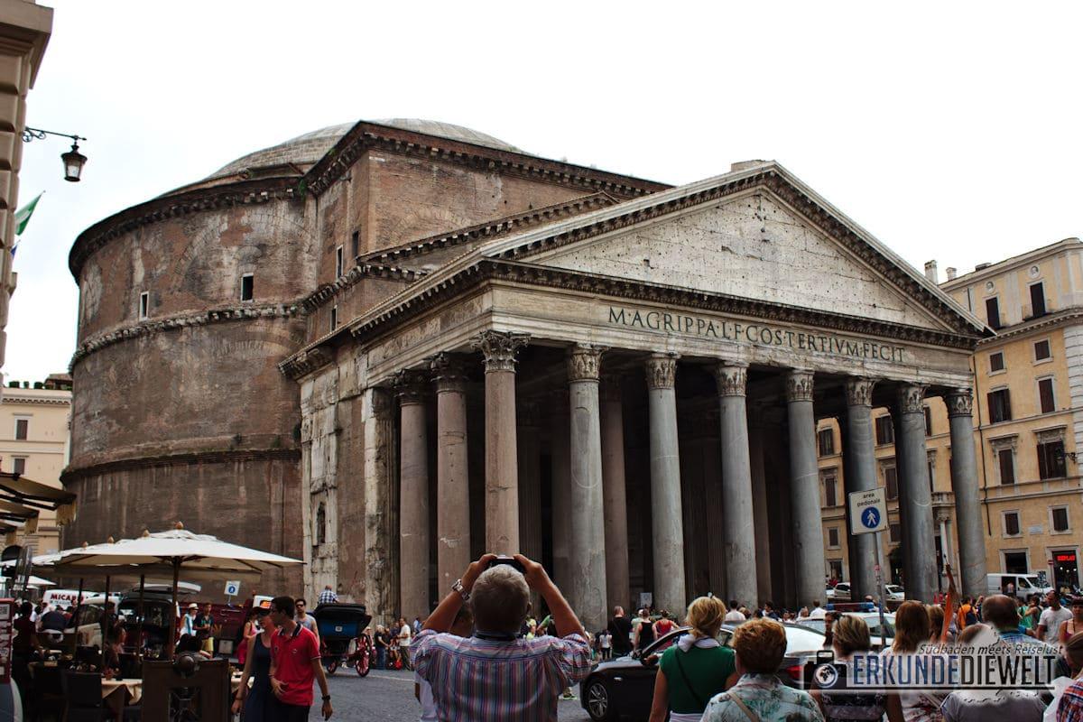 Mittelmeer Kreuzfahrt - Rom Pantheon