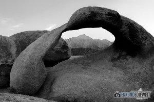 Mobius Arch, Alabama Hills, Kalifornien, USA