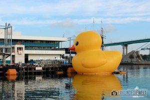Big Yellow Rubber Duck, LA, USA