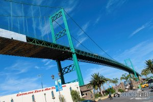 Vincent Thomas Bridge, LA, USA
