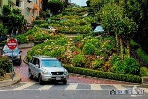 Lombard Street, San Francisco, Kalifornien, USA