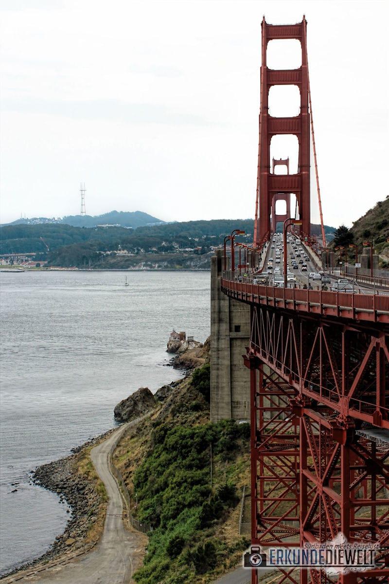Golden Gate Bridge, San Francisco, Kalifornien, USA