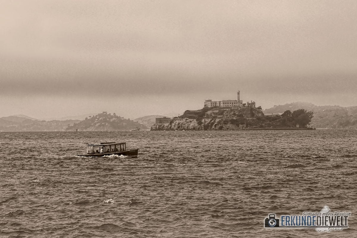 Alcatraz, San Francisco, Kalifornien, USA
