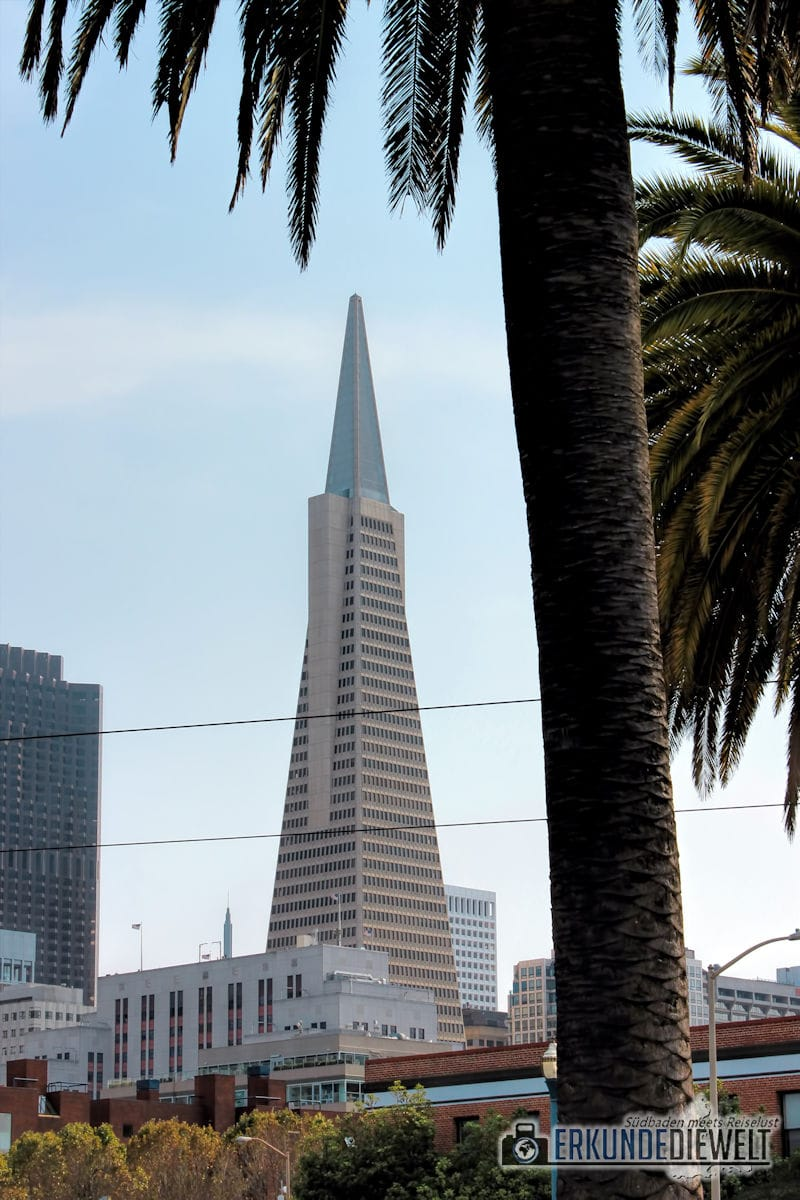 Transamerica Pyramid, San Francisco, Kalifornien, USA