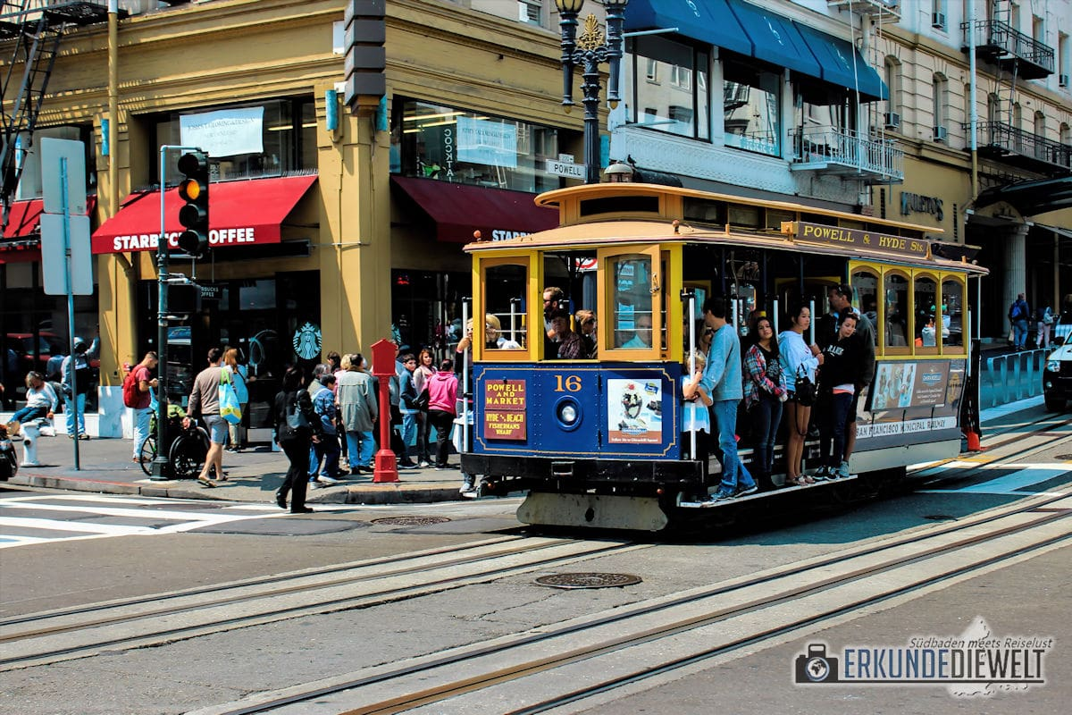 Cable Car, San Francisco, Kalifornien, USA