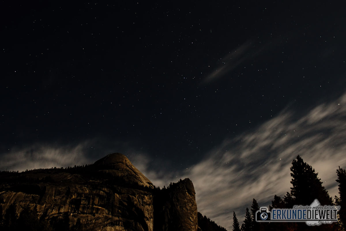 Sternenhimmel, Yosemite Nationalpark, Kalifornien, USA
