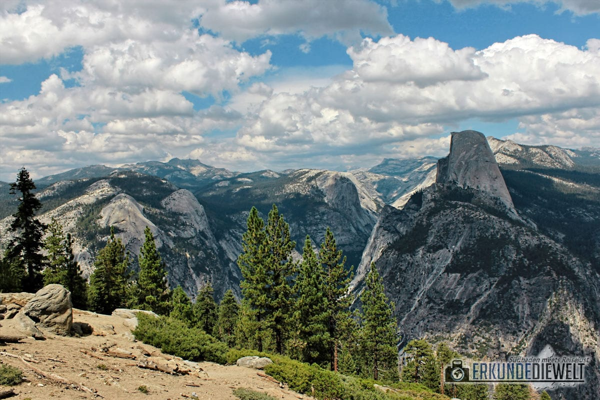 Glacier Point, Yosemite Nationalpark, Kalifornien, USA