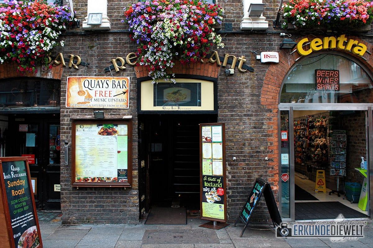 Irish Pub Quays, Dublin, Irland