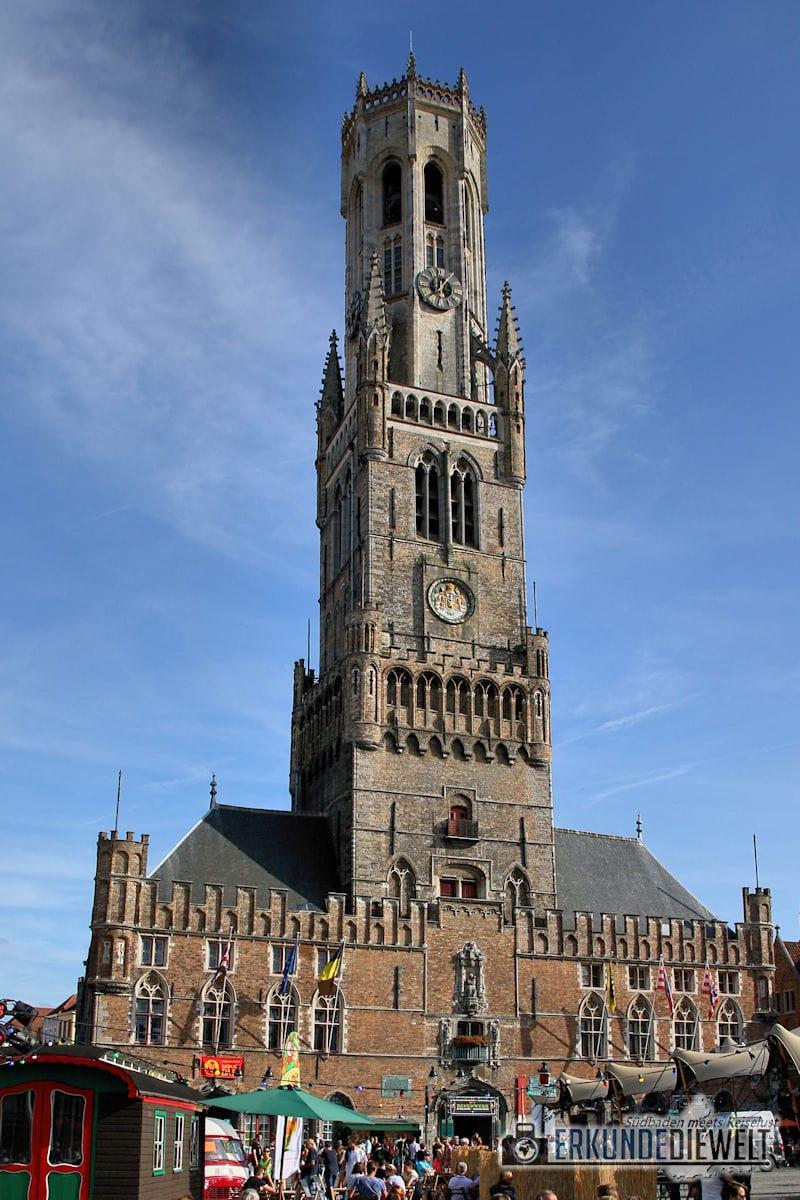 Belfried, Brügge, Belgien