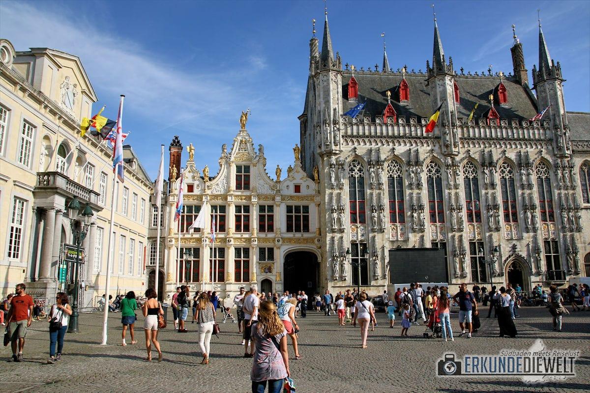 Stadhuis, Brügge, Belgien