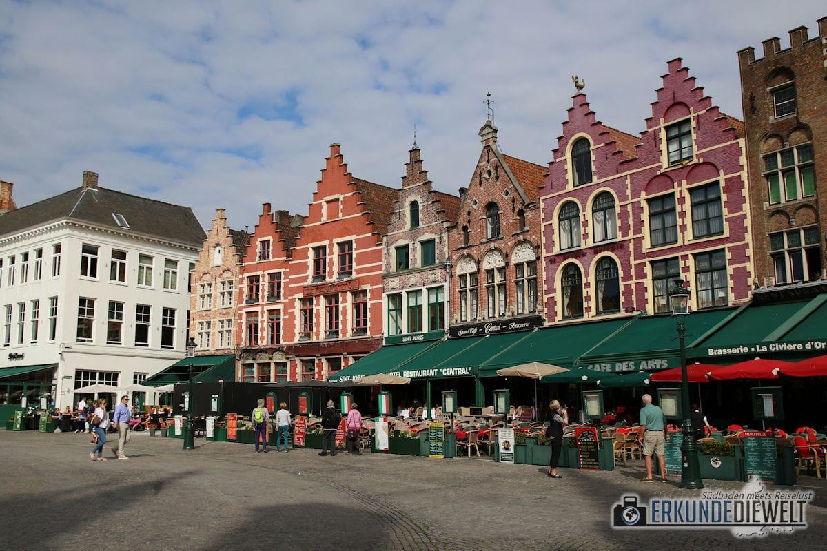Grote Markt, Brügge, Belgien