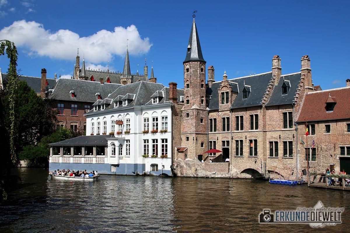 Grachtenfahrt, Brügge, Belgien