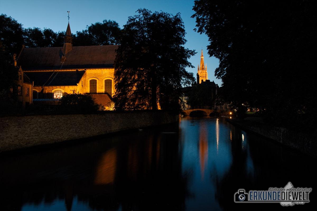 Brügge bei Nacht, Belgien