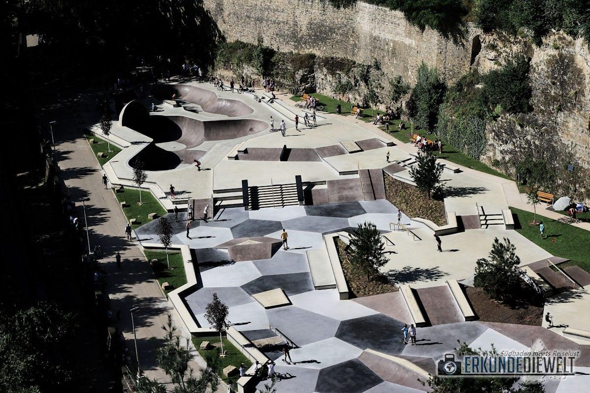 Skatepark, Luxemburg Stadt, Luxemburg