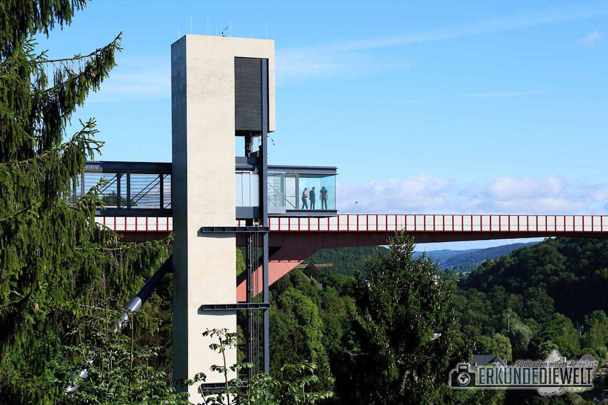 Gläserner Fahrstuhl Pfaffenthal, Luxemburg Stadt, Luxemburg