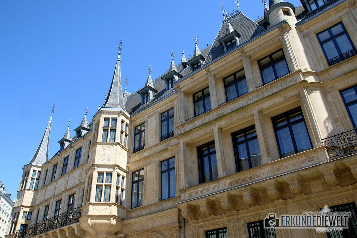 Großherzoglicher Palast, Luxemburg Stadt, Luxemburg