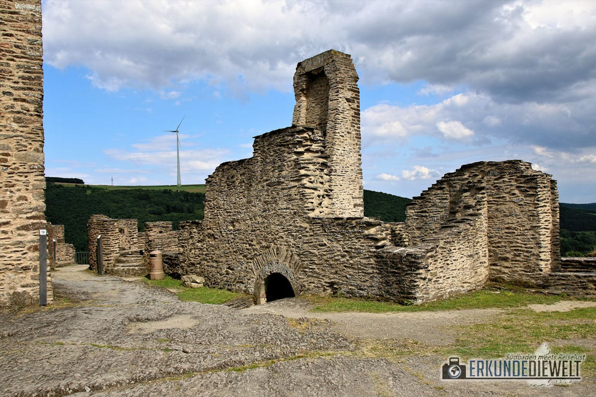 Burg Bourscheid, Luxemburg