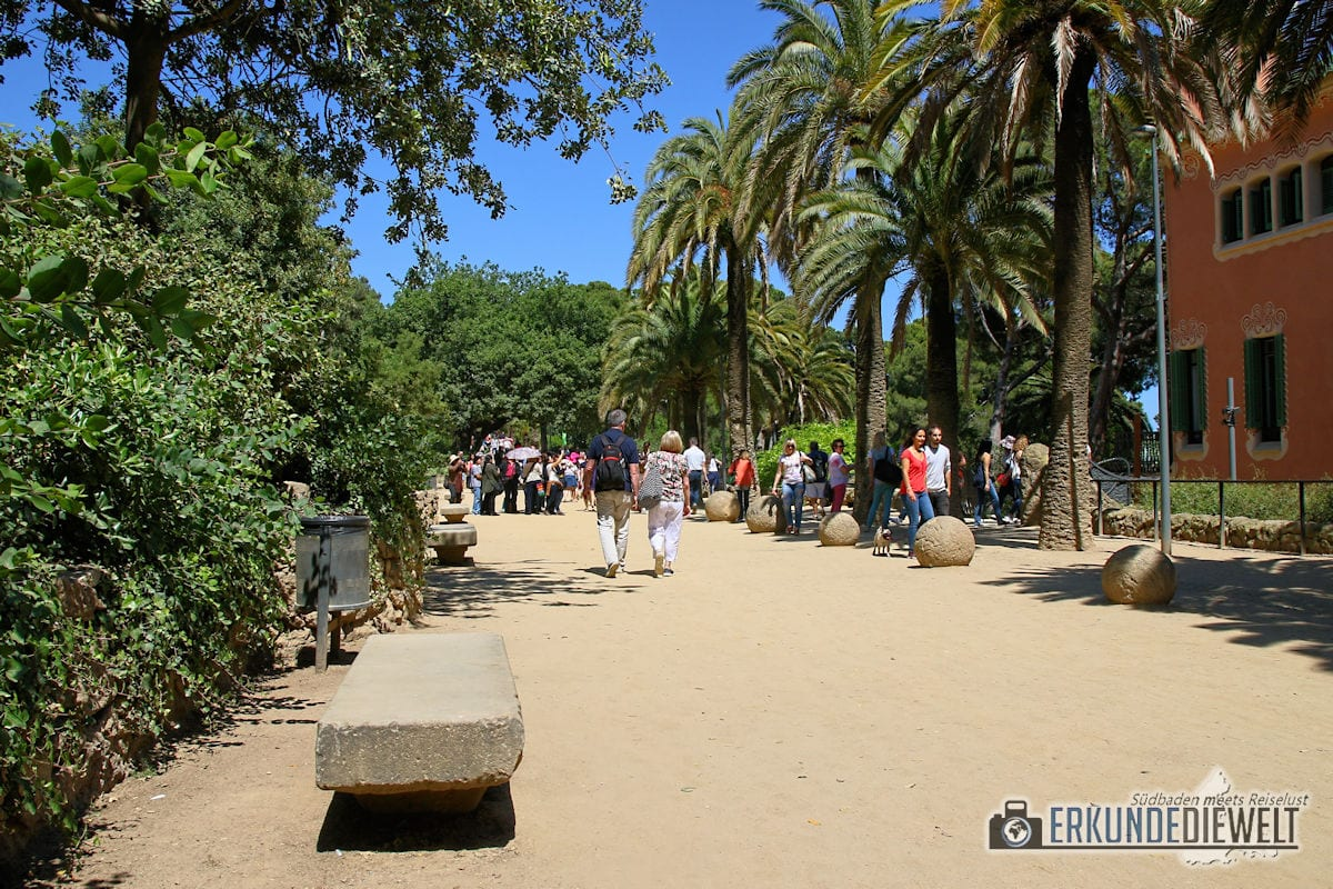 Park Güell, Barcelona, Spanien