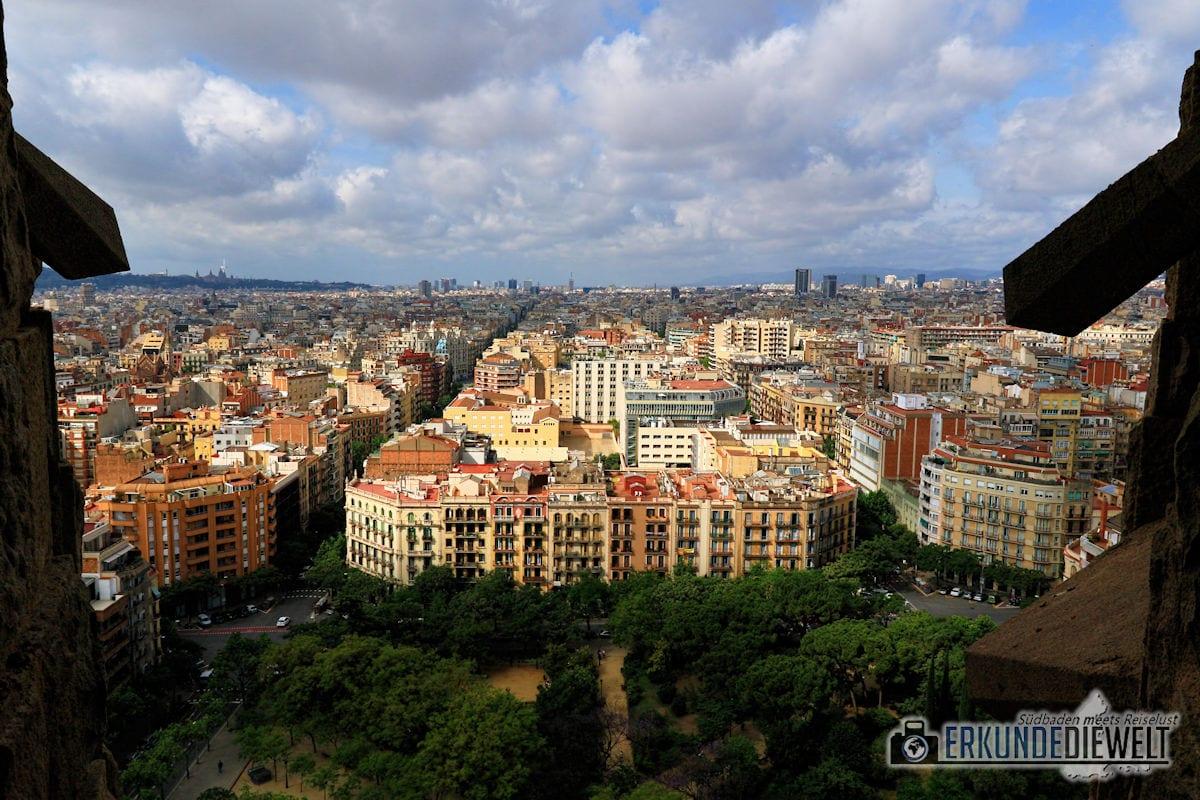 Sagrada Familia, Barcelona, Spanien