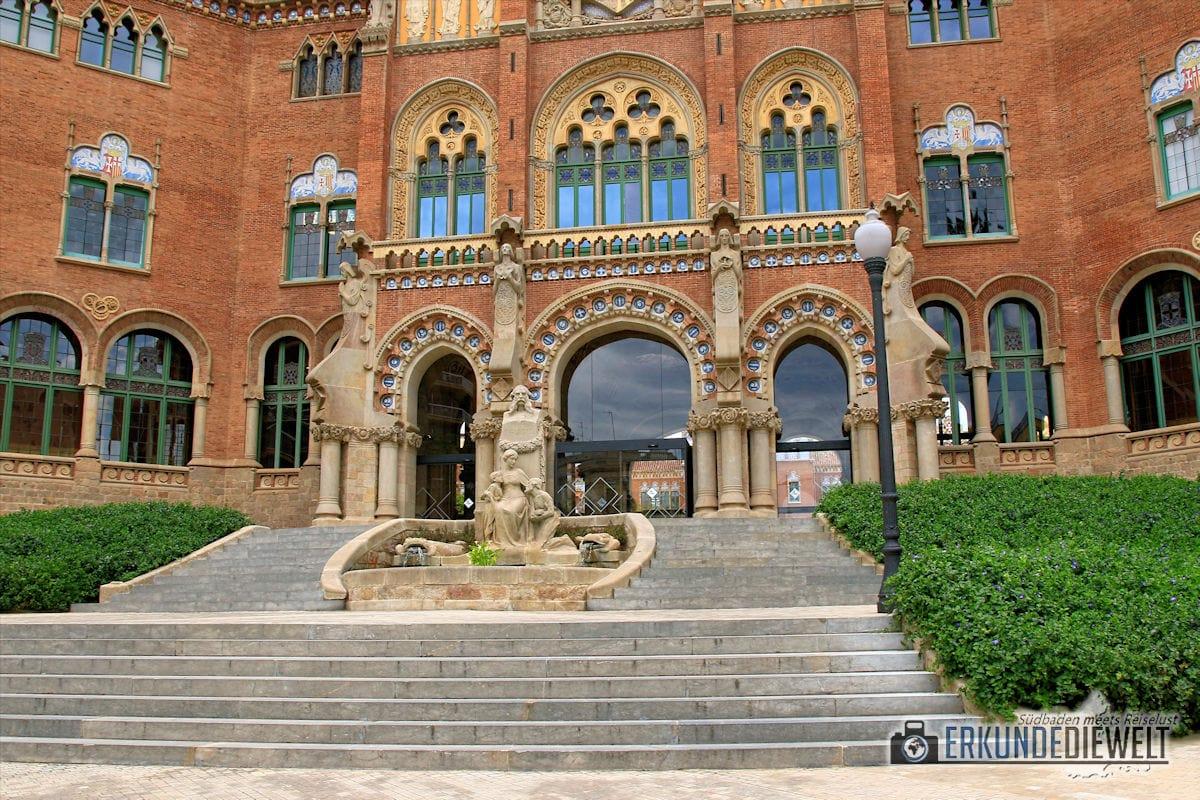 Hospital de Sant Pau, Barcelona, Spanien