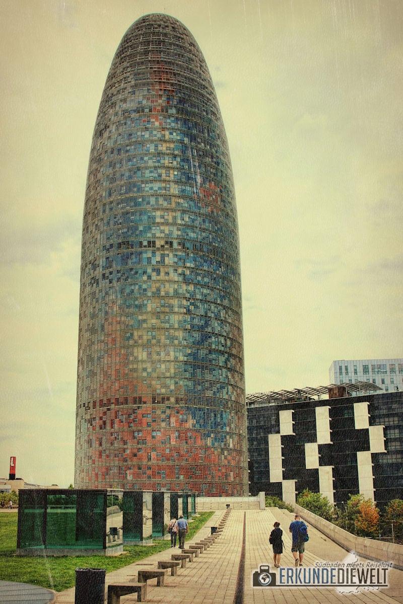 Torre Agbar, Barcelona, Spanien
