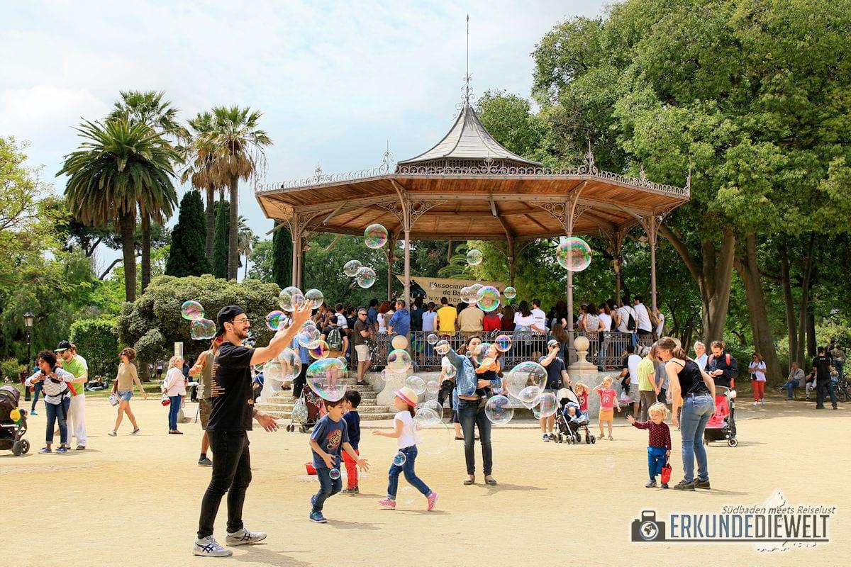 Parc de la Ciutadella, Barcelona, Spanien