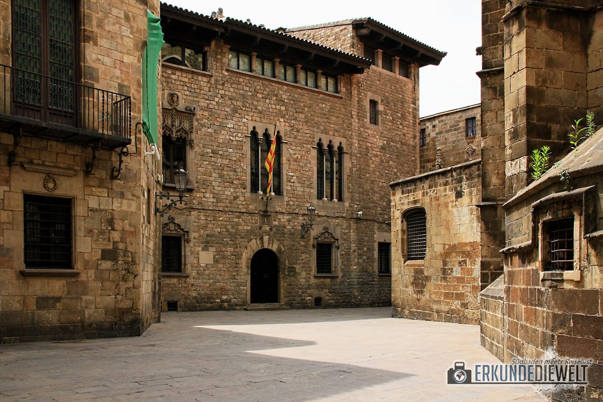 Unterwegs in El Born und Barri Gòtic, Barcelona, Spanien