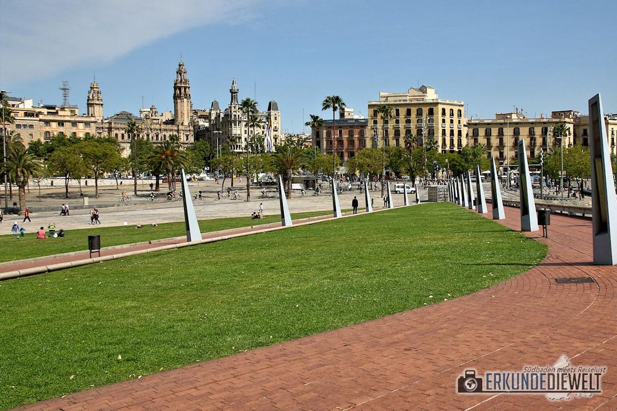 Hafen, Barcelona, Spanien