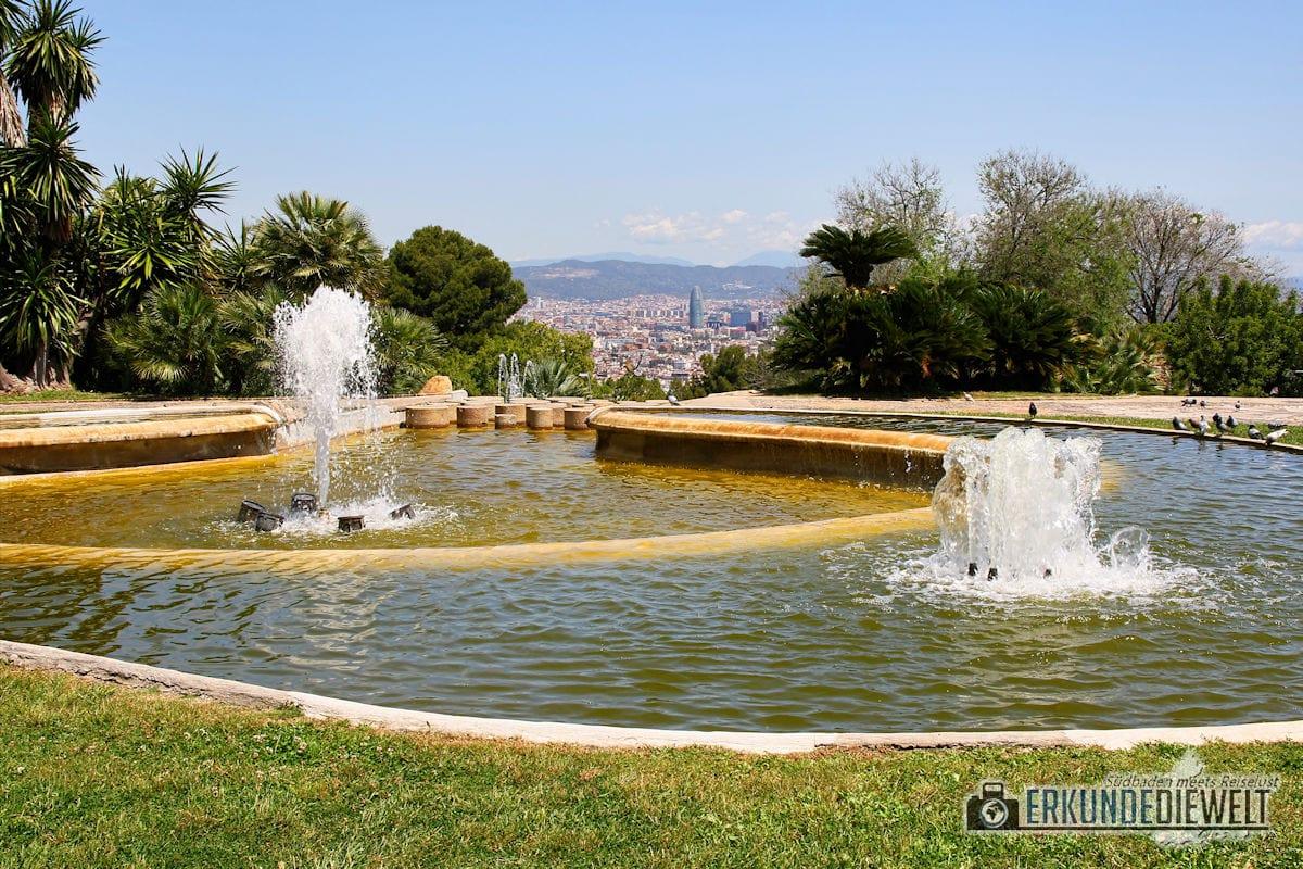 Montjuic, Barcelona, Spanien