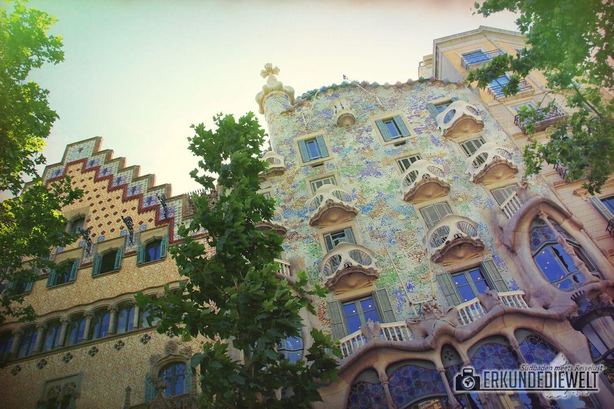 Casa Batllo, Barcelona, Spanien
