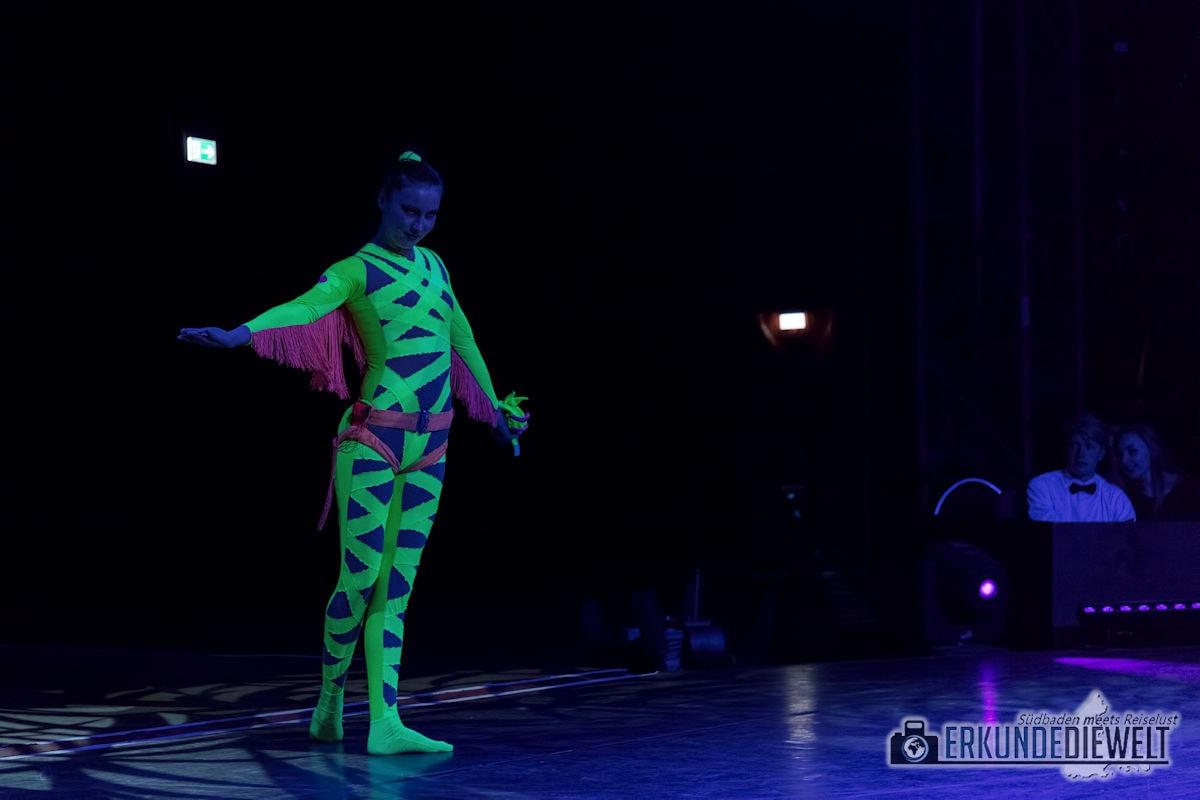 Zu Besuch im Weihnachtszirkus Circolo Freiburg 2017