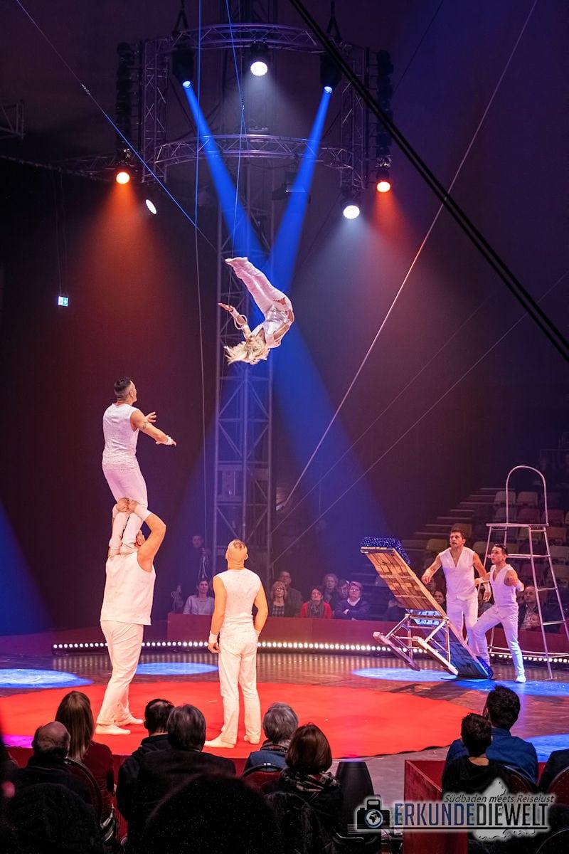 Zu Besuch im Weihnachtszirkus Circolo Freiburg 2018