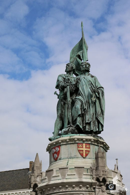 Brügge Sehenswürdigkeiten - Jan-Breydel-Denkmal