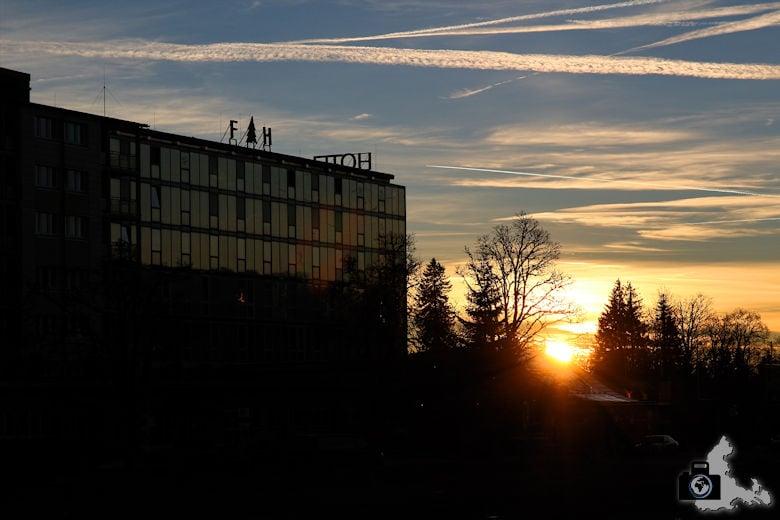 Feldberger Hof - Sonnenaufgang