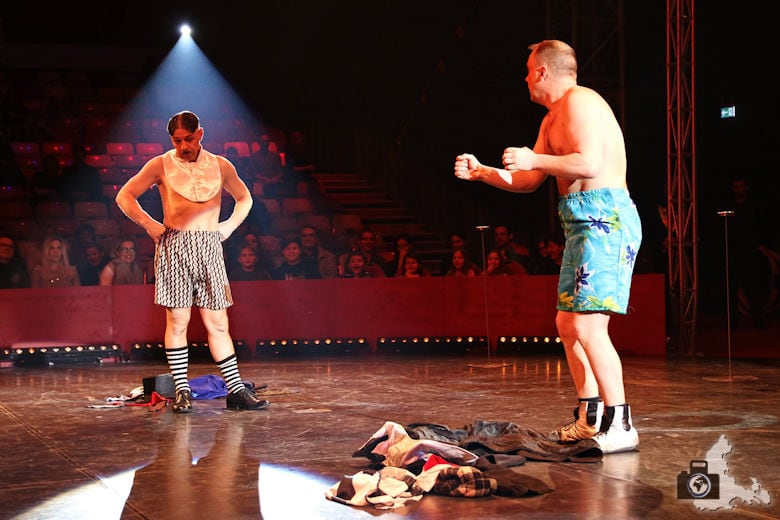 Fotografie-Tipps: Fotografieren im Zirkus - die Clowns Oleg und Sergej