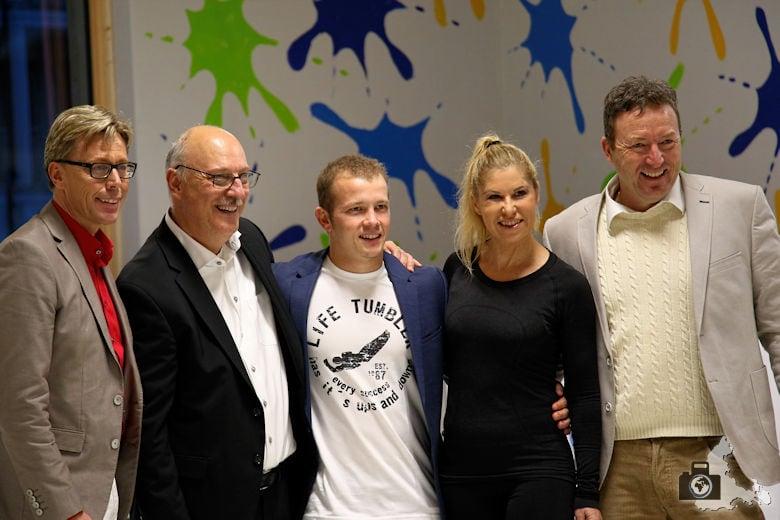 Fundorena - Eröffnung mit Denise Biellmann und Fabian Hambüchen