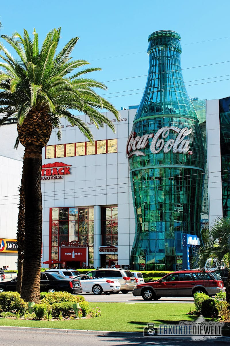 Coca Cola World, Las Vegas, USA