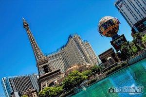 Eiffelturm, Las Vegas, USA