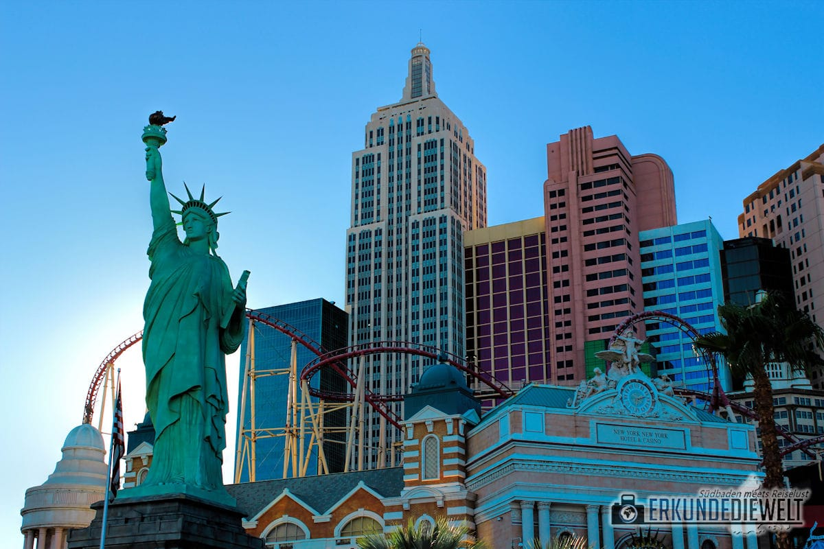 Freiheitsstatue des New York New York, Las Vegas, USA