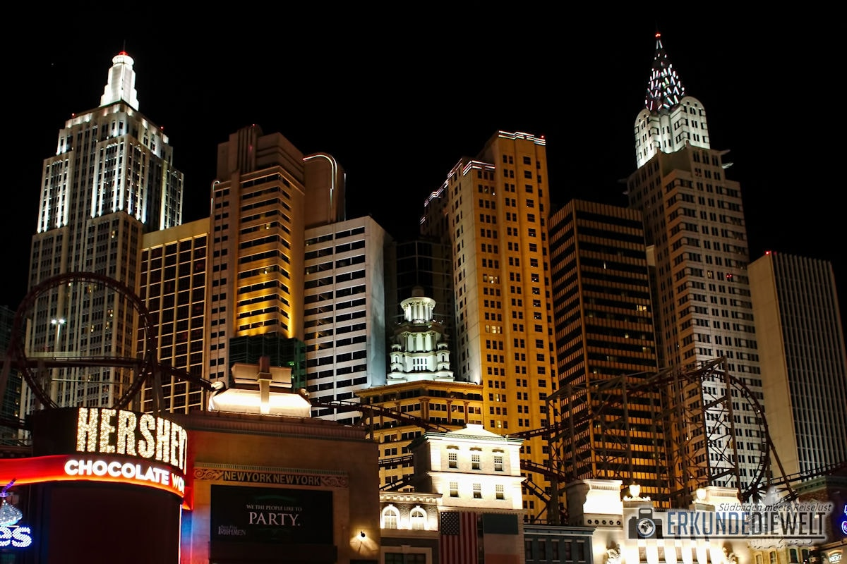 New York New York, Las Vegas, USA