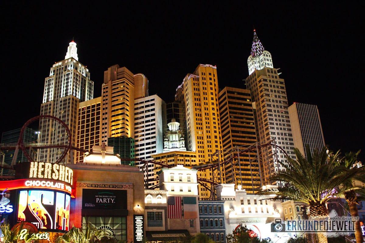 Las Vegas bei Nacht, USA