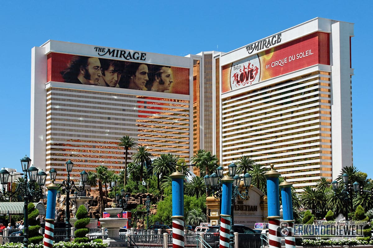 The Mirage, Las Vegas, USA