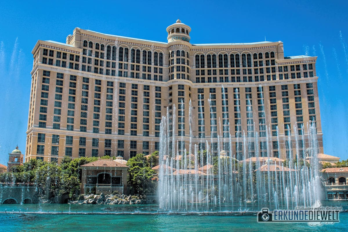 The Fountains of Bellagio, Las Vegas, USA