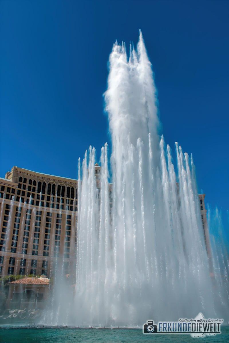 The Fountains of Bellagio, Las Vegas, USA