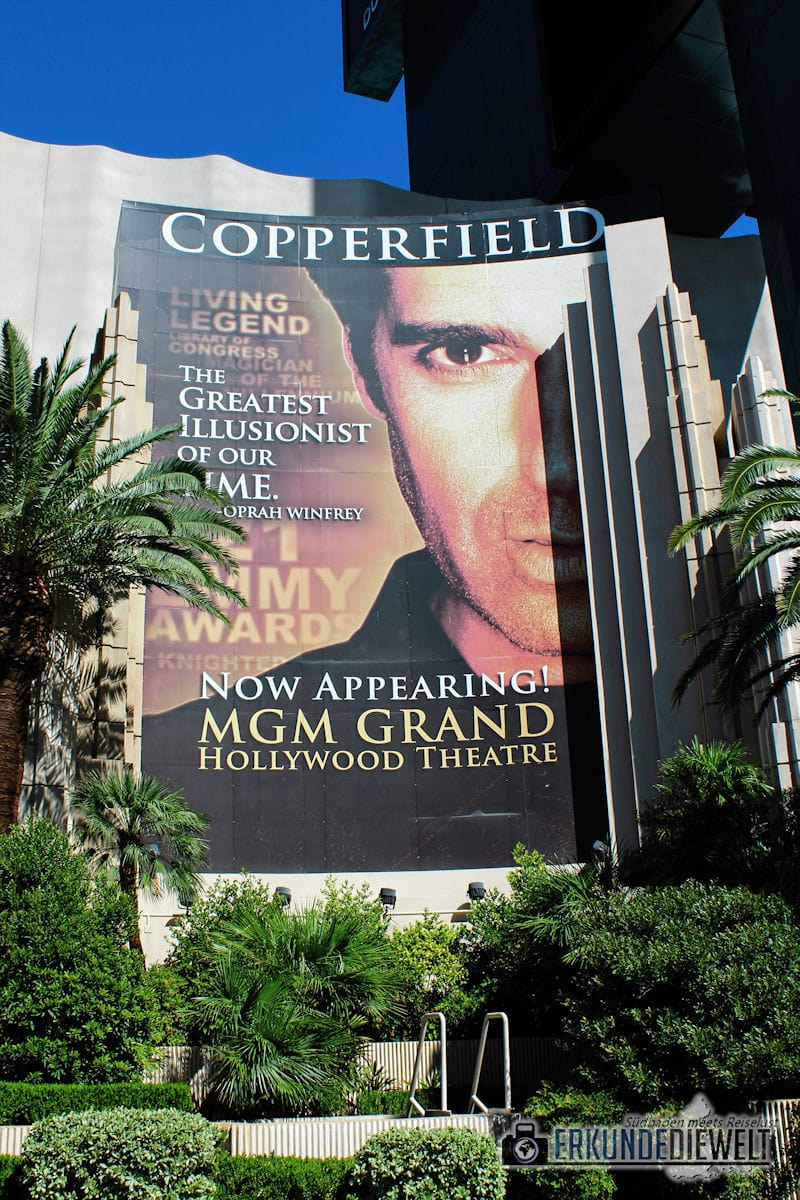 David Copperfiel Show, Las Vegas, USA