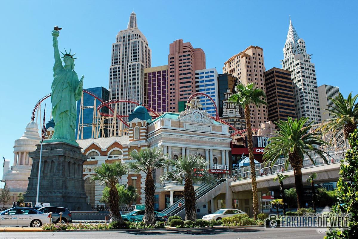New York New York, Las Vegas, USA