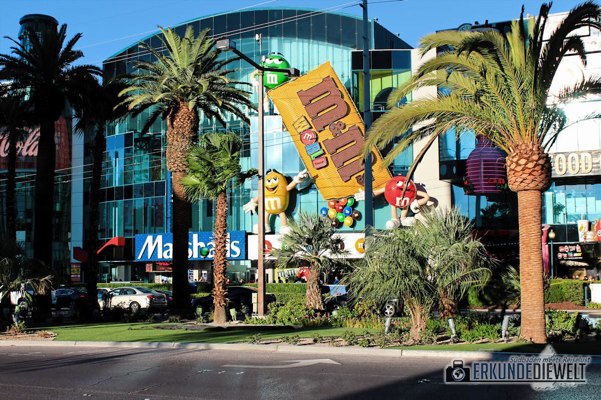 M&M World, Las Vegas, USA